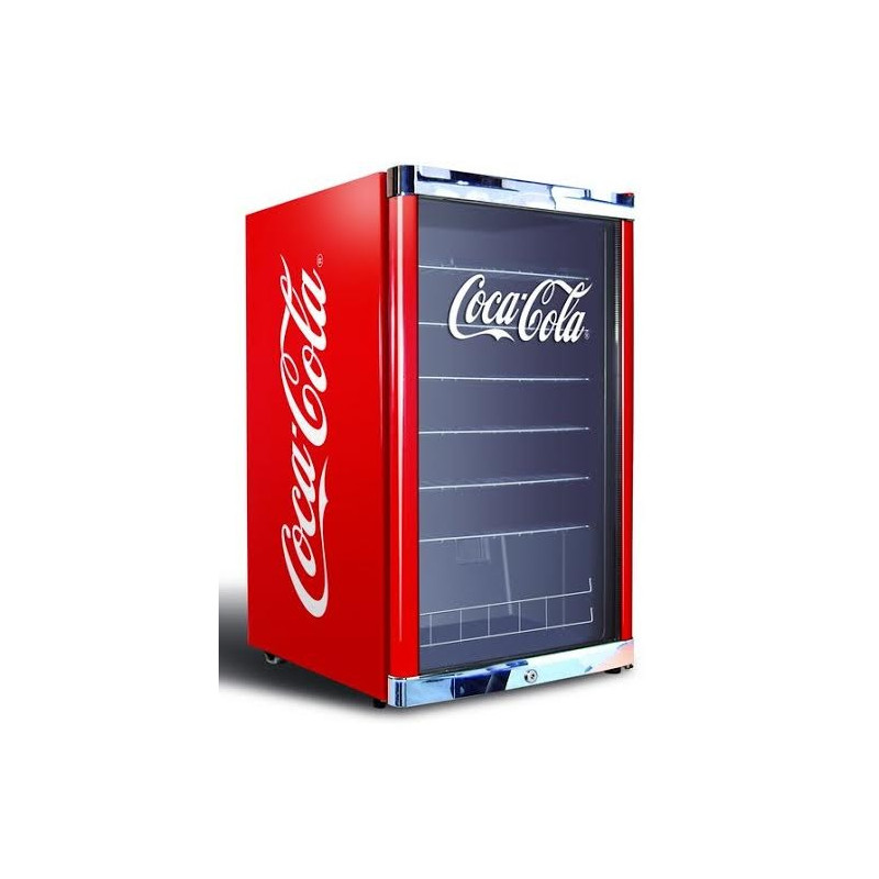 armoire vitr e positive coca cola d 39 une capacit de 115 l. Black Bedroom Furniture Sets. Home Design Ideas