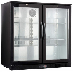 Frigo bar 2 portes led