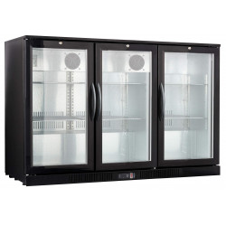 Frigo bar 3 portes led