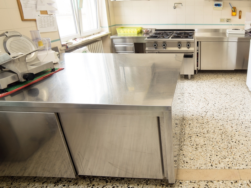 refrigerated preparation table